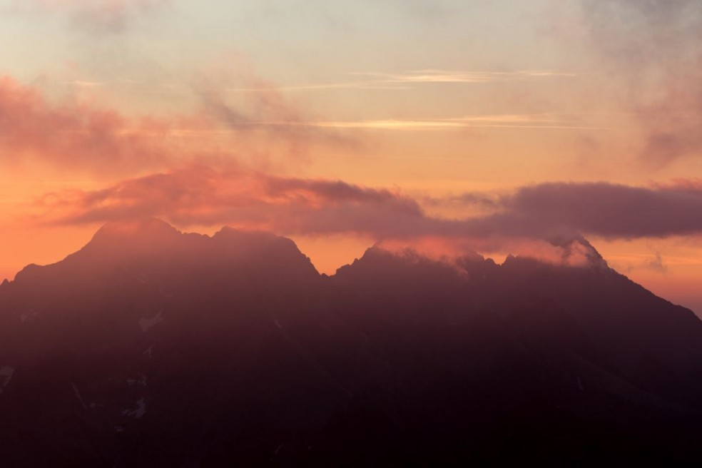 High Tatras at sunrise
