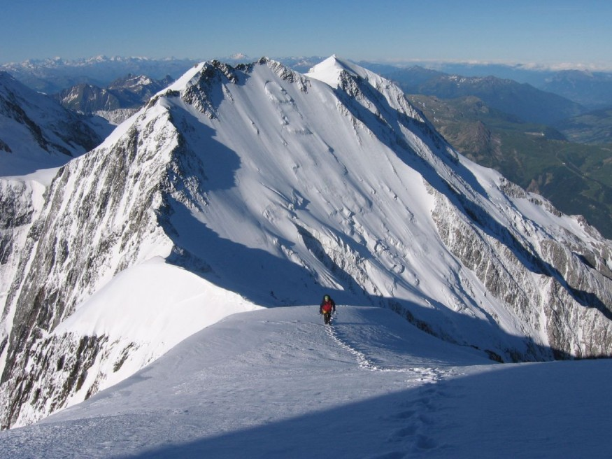 South ridge of Aiguille de Bionnassay