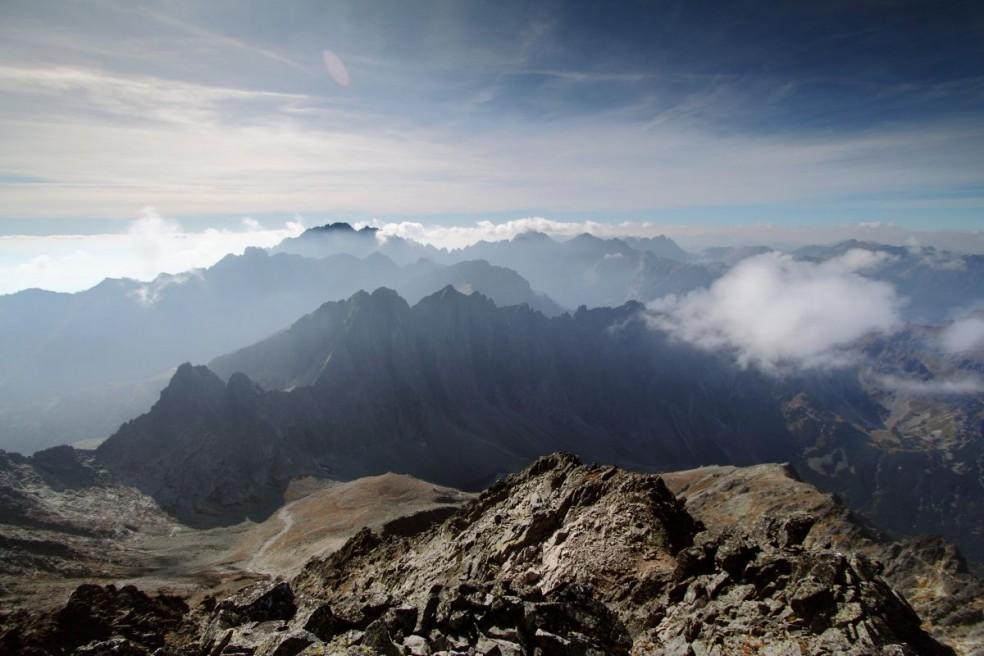 View from Malý Ľadový štít